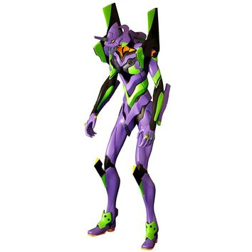 Evangelion -2.0 You Can (Not) Advance- Kaiyodo Non Scale Figure : Evangeleon EVA-01 Test Type (TANI AKIRA Mechanics Archive) [PRE-ORDER] - HYPETOKYO