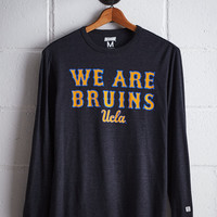 Tailgate Men's UCLA Long Sleeve T-Shirt, Charcoal