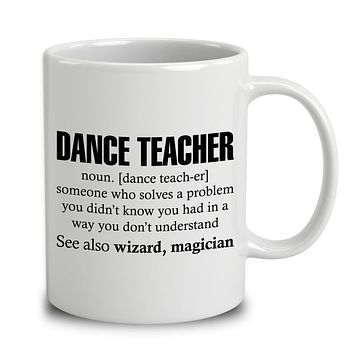 Dance Teacher Someone Who Solves A Problem