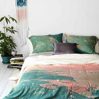 Tim Green For DENY Mooncrooner Duvet Cover