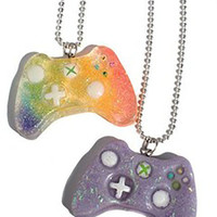 Kawaii Xbox Gamer Remote Controller Necklace