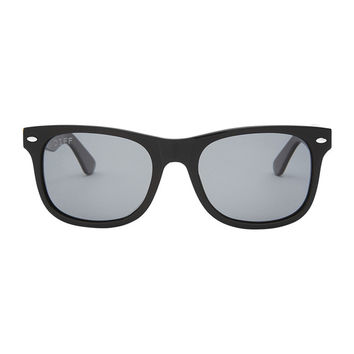 KOTA - BLACK FRAME - GREY POLARIZED LENS