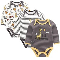Baby Clothing Newborn jumpsuits Baby Boy Girl Romper Long Sleeve Infant Clothes O-neck Product