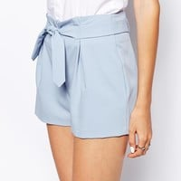 ASOS Shorts with Belted Waist Detail -