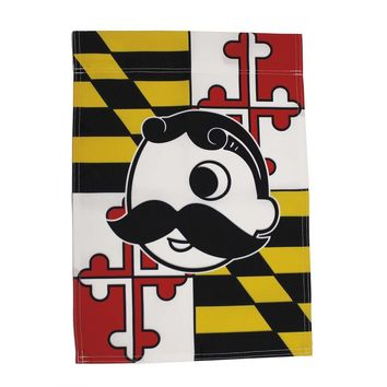 Maryland Flag with Natty Boh Logo *Veritcal* / Flag
