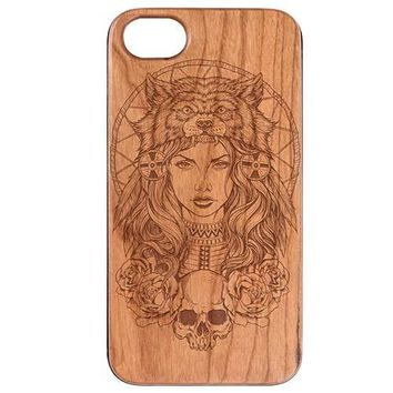 Native American Girl Phone Case