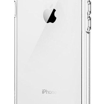 DCK4S2 Spigen Ultra Hybrid [2nd Generation] iPhone 7 Case / iPhone 8 Case with Air Cushion Technology for Apple iPhone 7 (2016) / iPhone 8 (2017) - Crystal Clear