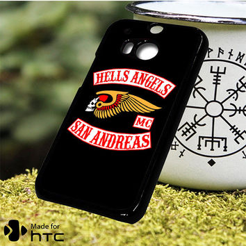 Hells Angels San Andreas HTC One M7, One M8, One M9, One M9 Plus, One M10 Case