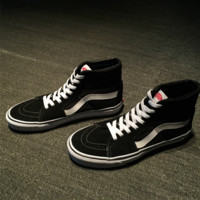 """""""VANSVIM"""" Classic Casual High Help Shoes Unisex Canvas Shoes Couple Shoes Sneakers"""
