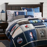 NBA Patchwork Quilt + Sham, Eastern Conference