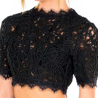 Lenyce Lace Crop