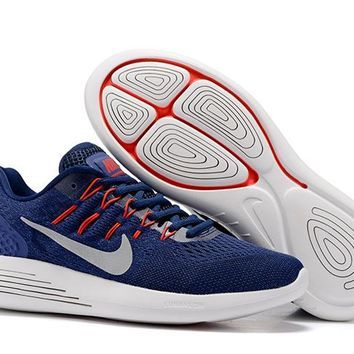 """""""Nike LunarGlide 8"""" Men Sport Casual Multicolor Sneakers Running Shoes"""