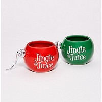 Jingle Juice Shot Glass Set 2 Pack - Spencer's