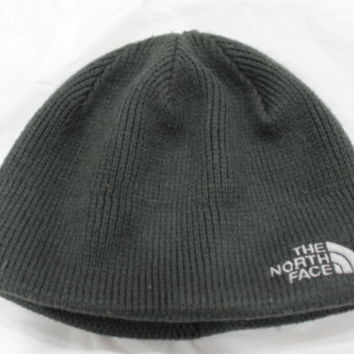 Damaged The North Face Adult's Bones Asphalt Grey Beanie Hat