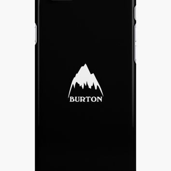 'Burton snowboards' iPhone Case/Skin by sladeos