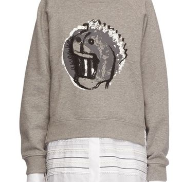 Burberry Graphic Print Sweatshirt | Nordstrom