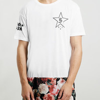 FLORAL LONG LINE FIT T-SHIRT - New This Week - New In