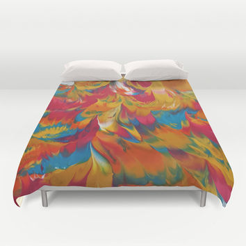 Psychedelic Duvet Cover by DuckyB (Brandi)