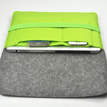 "iPad Pro 12.9"", Macbook Pro Case, Macbook Air 13 Case, Macbook Pro 13 Sleeve, Laptop Bag 13 inch, Felt Bags, attaché case, 1A80"