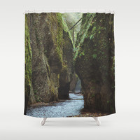 Oneonta Gorge Shower Curtain by Kevin Russ