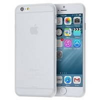 "iPhone 6 Case, Pasonomi® 0.3mm Ultra Thin Clear Rubber Soft TPU Matte Case Cover For Apple iPhone 6 4.7"" (White)"