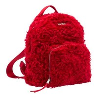 Miu Miu - Backpacks - Red - United States - 5BZ005_3I33_F0011_V_MOO