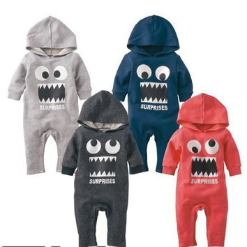 Kids Boys Girls Baby Clothing Toddler Bodysuits Products For Children = 4451338180