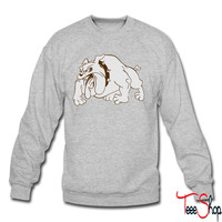 Bull Dog crewneck sweatshirt