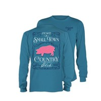 Palmetto Moon | Simply Southern Country Chick Long Sleeve T-shirt | Palmetto Moon