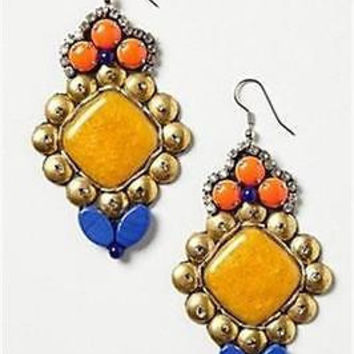 NWT Anthropologie Collected Heirloom Earrings,  Retailed for $108