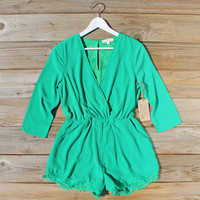 Agave Lace Romper