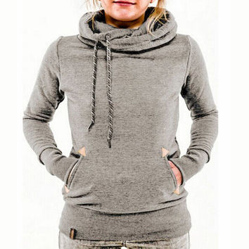 Fashion embroidery hooded sweater-2