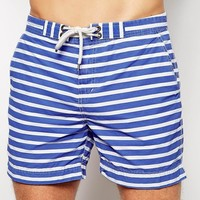 Polo Ralph Lauren Blue Stripe Swim Shorts
