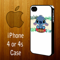 B1312 Lilo and Stitch Aloha Iphone 4 or 4s Case