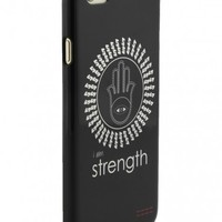 Peace Love World Clothing | I am Strength Black iPhone 6 Case