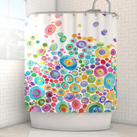 Catherine Holcombe: Inner Circle Shower Curtain by Kess InHouse | Fab.com