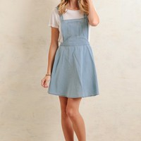 Hampshire Chambray Overall Dress