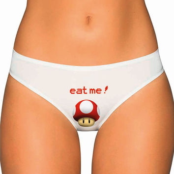Geek Underwear Panties Thongs Undies Lingerie - GrowUp Mushroom