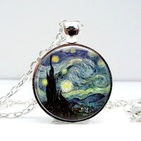 Starry Night Necklace : Vincent Van Gogh