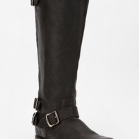 Frye Veronica Buckled Back-Zip Boot