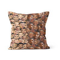Drake Meek Mill Faces Pillow