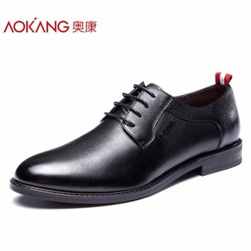 New Arrival Men Shoes breathable comfortable shoes man flat fashion derby shoes hard-wearing lace-up dress shoes man