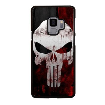 THE PUNISHER SKULL Samsung Galaxy S4 S5 S6 S7 S8 S9 Edge Plus Note 3 4 5 8 Case Cover