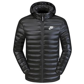 Nike Women Men Cardigan Jacket Coat-2