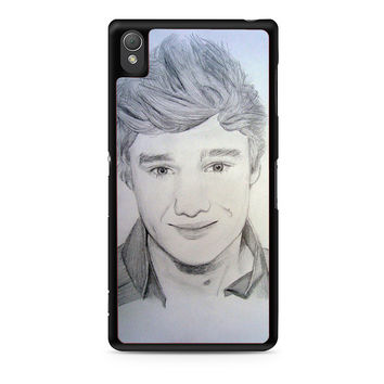 One Direction Liam Payne Art Pencil Xperia Z3 Case