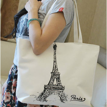 Cloth bags women's handbag stripe canvas bag female handbag one shoulder nappy bag shopping bag