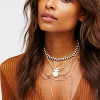 Free People Light Show Delicate Collar