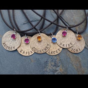 FRIENDSHIP NECKLACES SET OF 6      by perfectcharmingjewel on Etsy