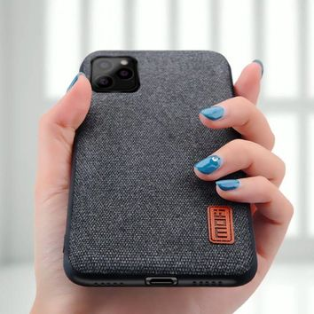 Fabric Heat-Dissipating iPhone 11 Case