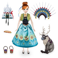 Anna Singing Doll Set - 11'' - Frozen Fever | Disney Store